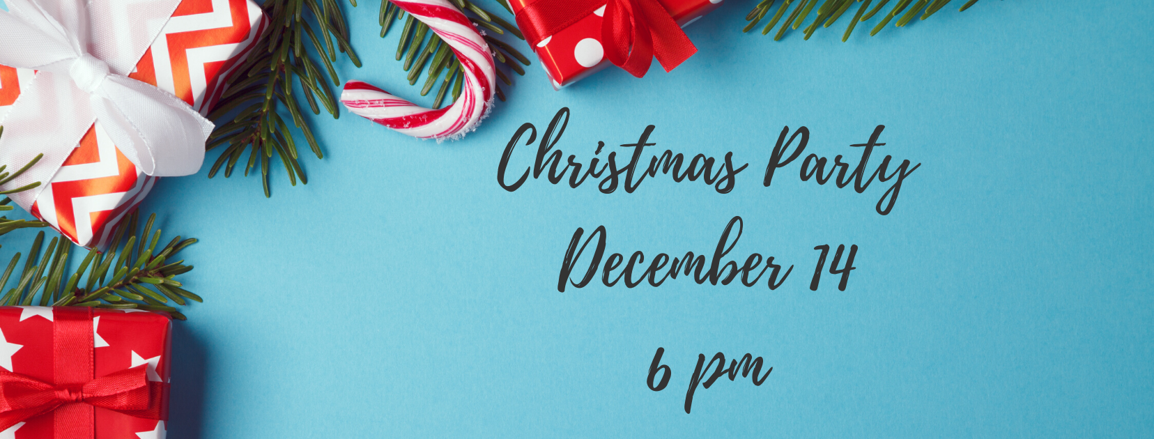 Christmas Party December 14 5 pm